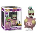 Funko Zim & Gir on the Pig
