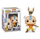 Funko Aang with Momo