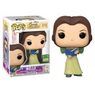 Funko Belle in Green Dress with Book