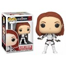 Funko Black Widow White Suit