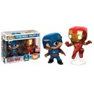 Funko CW Cap & Iron Man Action Pose