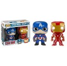 Funko CW Captain America & Iron Man