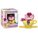 Funko Cheshire at the Mad Tea Party