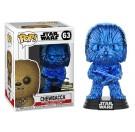 Funko Chewbacca Blue Chrome