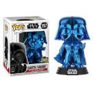 Funko Darth Vader Blue Chrome
