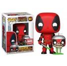 Funko Zombie Deadpool with Headpool