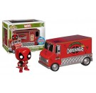 Funko Deadpool's Chimichanga Truck Red