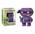 Funko Donatello 8-Bit Neon Purple