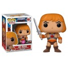 Funko Flocked He-Man Raising Sword