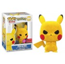 Funko Flocked Pikachu Angry