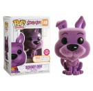 Funko Flocked Scooby-Doo Purple
