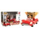 Funko Gizmo in Red Car