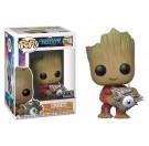 Funko Groot with Cyborg Eye