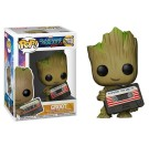 Funko Groot with Mix Tape