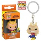 Funko Keychain All Might GITD