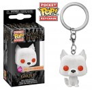Funko Keychain Flocked Ghost