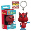 Funko Keychain Fox in Socks