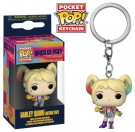 Funko Keychain Harley Quinn Caution Tape