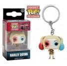 Funko Keychain Harley Quinn Gown