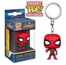 Funko Keychain Iron Spider