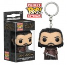 Funko Keychain Jon Snow King in the North