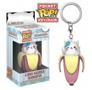 Funko Keychain Long-Haired Bananya