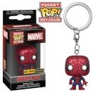 Funko Keychain Metallic Spider-Man