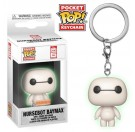 Funko Keychain Nursebot Baymax GITD