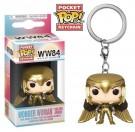 Funko Keychain Wonder Woman Golden Armor