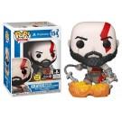 Funko Kratos with the Blades of Chaos GITD