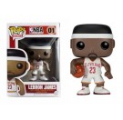 Funko Lebron James White Jersey