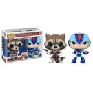 Funko Rocket vs Mega Man X