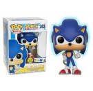 Funko Sonic with Ring GITD