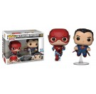 Funko The Flash and Superman
