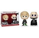 Funko Vynl Luke Skywalker + Darth Vader