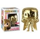 Funko Wonder Woman Golden Armor Gold Chrome