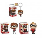 Funko The Incredibles - Disney - Elastigirl 364 - Mr. Incredible 363 - Keychain Elastigirl